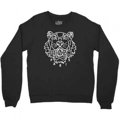 Kenzo White Tiger Crewneck Sweatshirt Designed By Meganphoebe