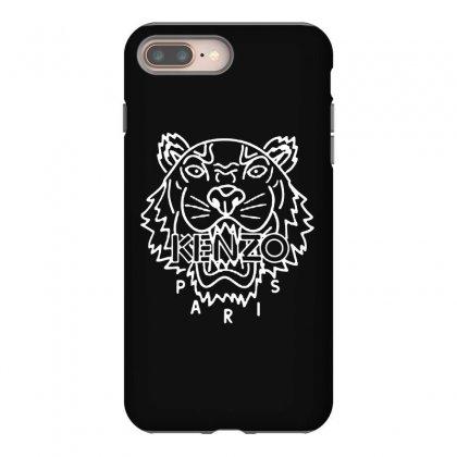 Kenzo White Tiger Iphone 8 Plus Case Designed By Meganphoebe
