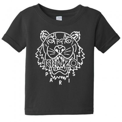 Kenzo White Tiger Baby Tee Designed By Meganphoebe