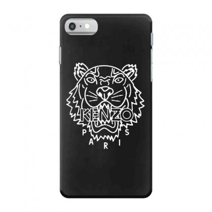 Kenzo White Tiger Iphone 7 Case Designed By Meganphoebe