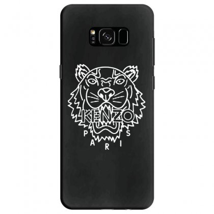 Kenzo White Tiger Samsung Galaxy S8 Case Designed By Meganphoebe