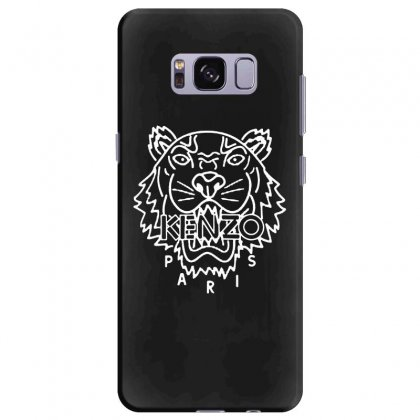 Kenzo White Tiger Samsung Galaxy S8 Plus Case Designed By Meganphoebe