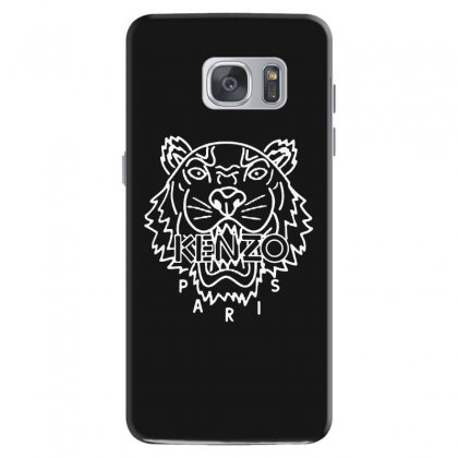 Kenzo White Tiger Samsung Galaxy S7 Case Designed By Meganphoebe