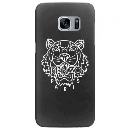 Kenzo White Tiger Samsung Galaxy S7 Edge Case Designed By Meganphoebe