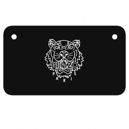 Kenzo White Tiger Motorcycle License Plate Designed By Meganphoebe