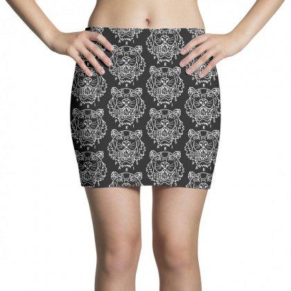 Kenzo White Tiger Mini Skirts Designed By Meganphoebe