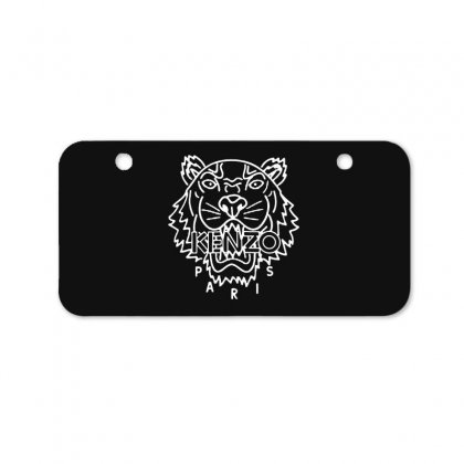 Kenzo White Tiger Bicycle License Plate Designed By Meganphoebe