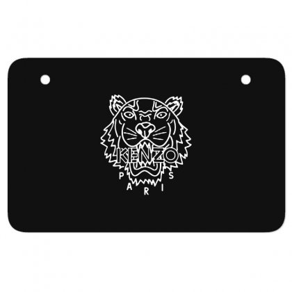 Kenzo White Tiger Atv License Plate Designed By Meganphoebe