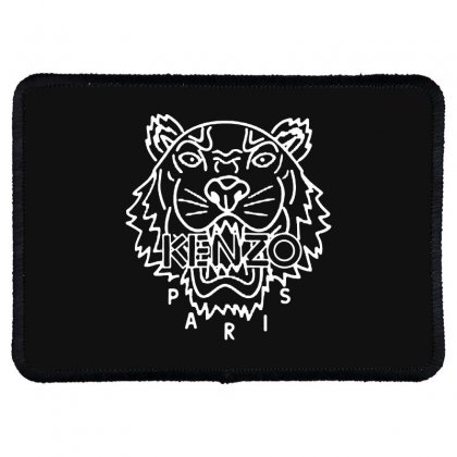 Kenzo White Tiger Rectangle Patch Designed By Meganphoebe