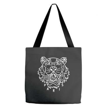 Kenzo White Tiger Tote Bags Designed By Meganphoebe