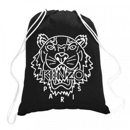 Kenzo White Tiger Drawstring Bags Designed By Meganphoebe