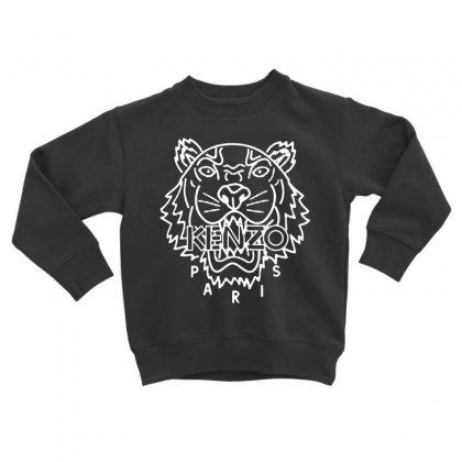 Kenzo White Tiger Toddler Sweatshirt Designed By Meganphoebe