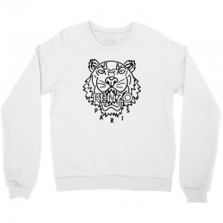 kenzo black tiger Crewneck Sweatshirt | Artistshot
