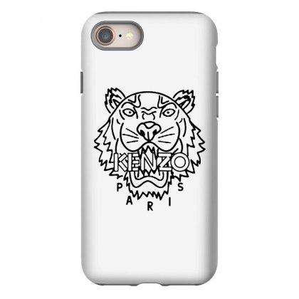 Kenzo Black Tiger Iphone 8 Case Designed By Meganphoebe