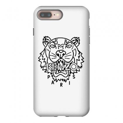 Kenzo Black Tiger Iphone 8 Plus Case Designed By Meganphoebe