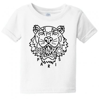 Kenzo Black Tiger Baby Tee Designed By Meganphoebe
