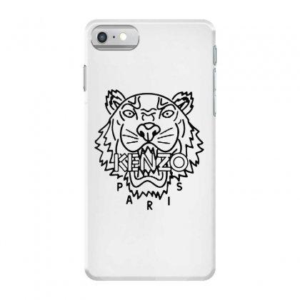 Kenzo Black Tiger Iphone 7 Case Designed By Meganphoebe