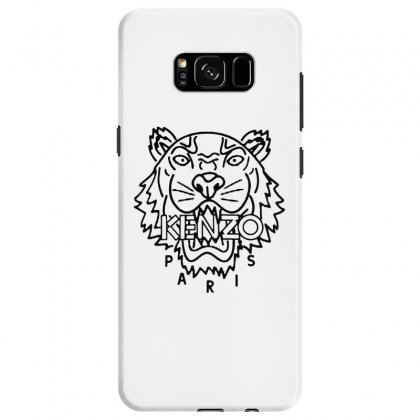 Kenzo Black Tiger Samsung Galaxy S8 Case Designed By Meganphoebe