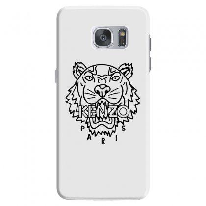 Kenzo Black Tiger Samsung Galaxy S7 Case Designed By Meganphoebe
