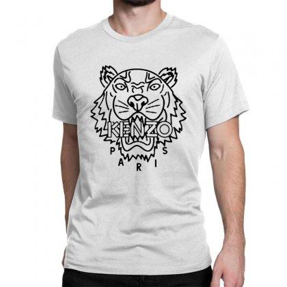 Kenzo Black Tiger Classic T-shirt Designed By Meganphoebe