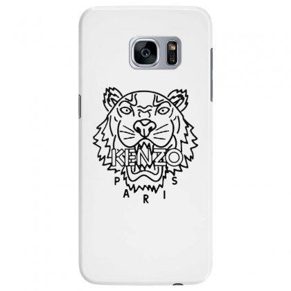 Kenzo Black Tiger Samsung Galaxy S7 Edge Case Designed By Meganphoebe