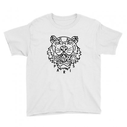 Kenzo Black Tiger Youth Tee Designed By Meganphoebe