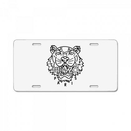 Kenzo Black Tiger License Plate Designed By Meganphoebe