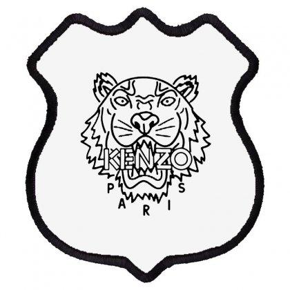 Kenzo Black Tiger Shield Patch Designed By Meganphoebe
