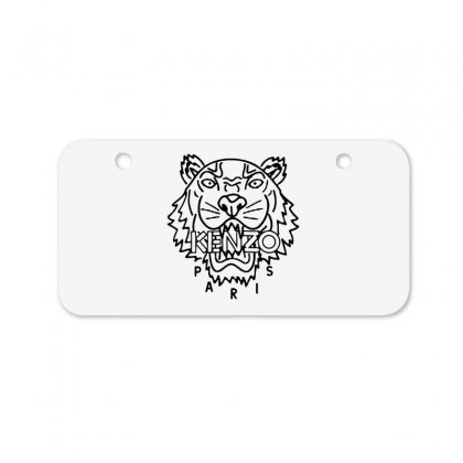 Kenzo Black Tiger Bicycle License Plate Designed By Meganphoebe