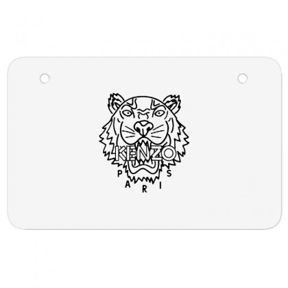 Kenzo Black Tiger Atv License Plate Designed By Meganphoebe