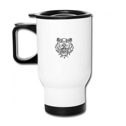 Kenzo Black Tiger Travel Mug Designed By Meganphoebe