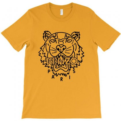 Kenzo Black Tiger T-shirt Designed By Meganphoebe