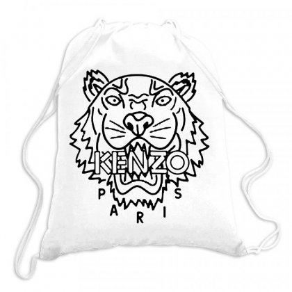Kenzo Black Tiger Drawstring Bags Designed By Meganphoebe