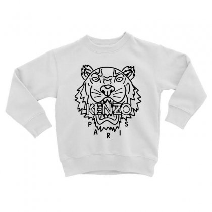 Kenzo Black Tiger Toddler Sweatshirt Designed By Meganphoebe