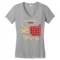 periodic table of wine Women's V-Neck T-Shirt | Artistshot