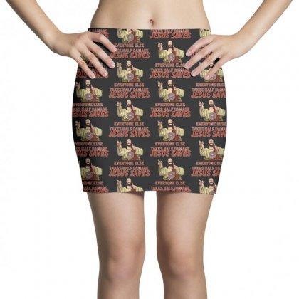 Jesus Saves Everyone Else Takes Half Damage Mini Skirts Designed By Meganphoebe