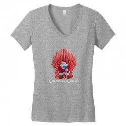 christmas is coming Women's V-Neck T-Shirt | Artistshot