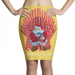 christmas is coming Pencil Skirts | Artistshot