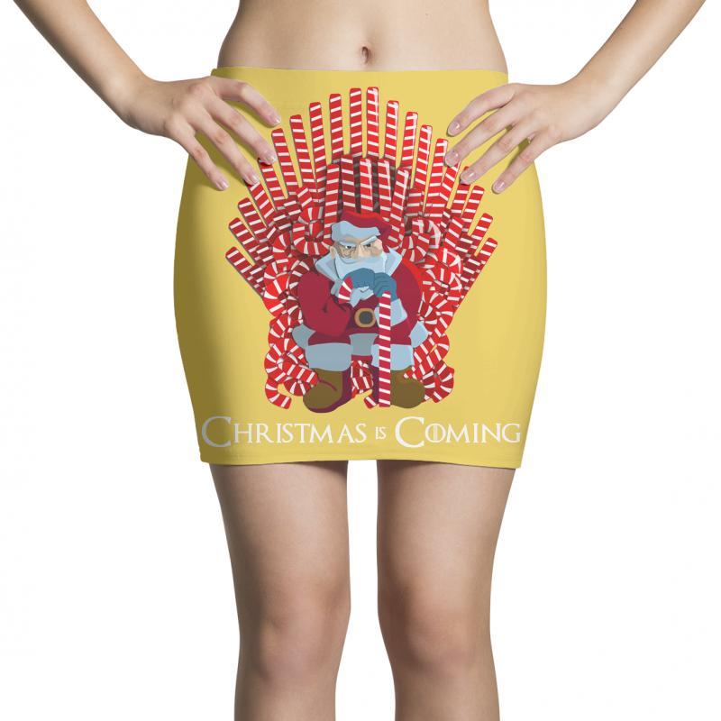 Christmas Is Coming Mini Skirts | Artistshot