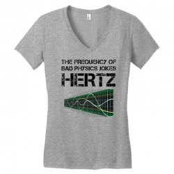 physics teacher scie Women's V-Neck T-Shirt | Artistshot