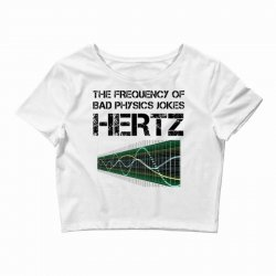 physics teacher scie Crop Top | Artistshot