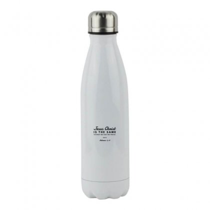 Jesus Christ Is The Same Yesterday Today And Forever Stainless Steel Water Bottle Designed By Meganphoebe