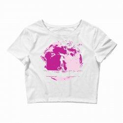 pink matata Crop Top | Artistshot