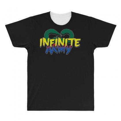 Infinite Lists Merch Infinite Lists Infinite Army Garnet All Over Men's T-shirt Designed By Meganphoebe