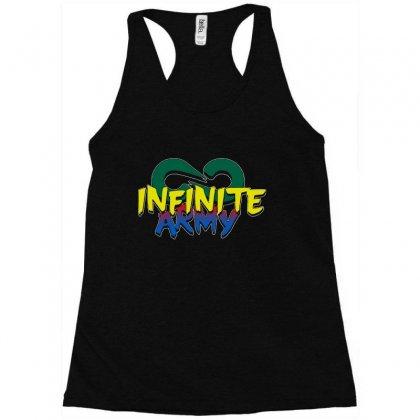 Infinite Lists Merch Infinite Lists Infinite Army Garnet Racerback Tank Designed By Meganphoebe