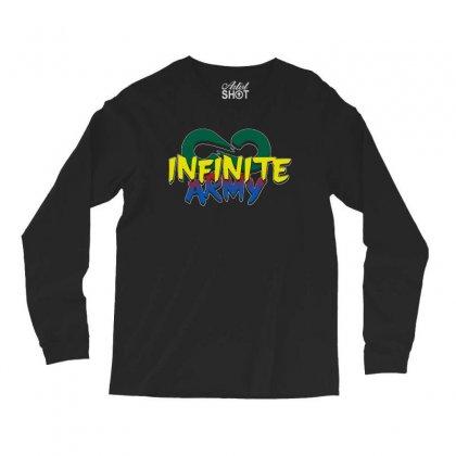 Infinite Lists Merch Infinite Lists Infinite Army Garnet Long Sleeve Shirts Designed By Meganphoebe