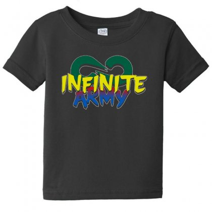 Infinite Lists Merch Infinite Lists Infinite Army Garnet Baby Tee Designed By Meganphoebe