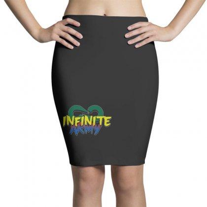 Infinite Lists Merch Infinite Lists Infinite Army Garnet Pencil Skirts Designed By Meganphoebe