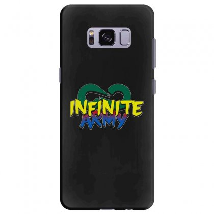 Infinite Lists Merch Infinite Lists Infinite Army Garnet Samsung Galaxy S8 Plus Case Designed By Meganphoebe