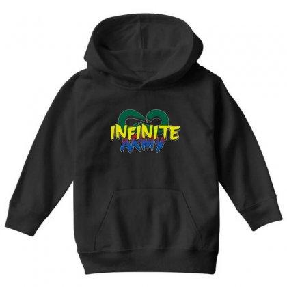 Infinite Lists Merch Infinite Lists Infinite Army Garnet Youth Hoodie Designed By Meganphoebe